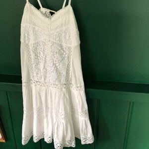 Hand made white dress new with tags